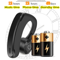 V11 Business Wireless Bluetooth Headset Earphone Noise Cancelling Handsfree