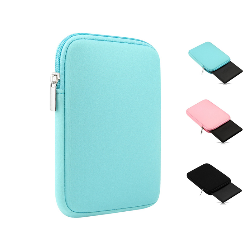 Universal Tablet Sleeve Pouch Case for iPad Air 2 Air 1 mini 1 2 3 mini 4 Pro 9.7 inch Soft Bag for iPad 9.7 2017 2018 Case