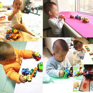 Image 4 - Vehículos de construcción para niños de 2 a 3 años, juguetes gruesos de dibujos animados para tirar hacia atrás, regalo para niños pequeños, MAR 20