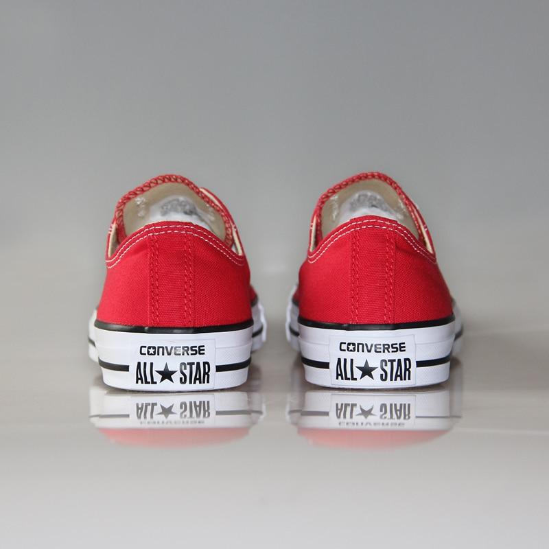 sports shoes bc459 9f97b Original clásico all star de Converse zapatos hombres y mujeres zapatillas  de lona bajos Zapatos de Skate clásico 4 color en Zapatos de skate de  Deportes y ...