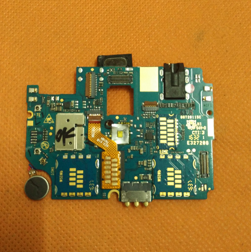 Used Original mainboard 2G RAM 16G ROM Motherboard for HOMTOM HT20 MTK6737 Quad Core HD 1280x720