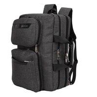 BESTLIFET Transform Business Laptop Backpack Canvas Packbag Multi Functional Business Bag For Man Travel Bags Mochila