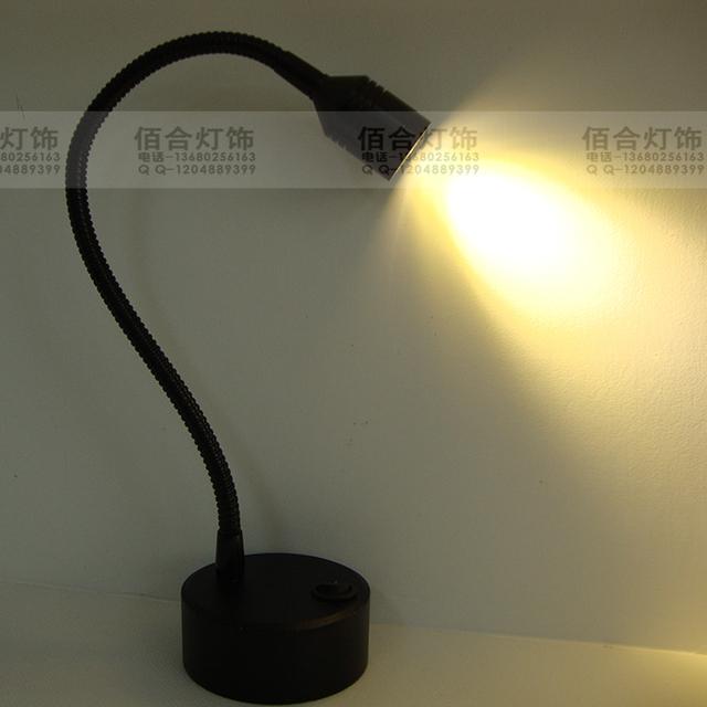 Batería de la lámpara LED inalámbrico fuente de alimentación de su propia joyería stand puesto móvil de la lámpara de escritorio luces de la tienda