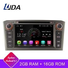 LJDA 2 Din Android 9,1 Автомобильный DVD плеер для Toyota Avensis T25 2003-2008, Wi-Fi, gps радио 2 Гб Оперативная память 16G Встроенная память с четырёхъядерным процессором Мультимедиа USB