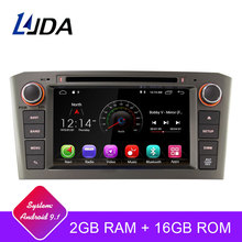 LJDA 2 Din Android 9.1 Car DVD Player Per Toyota Avensis T25 2003-2008 Wifi GPS Radio 2 GB di RAM 16G ROM Quad Core Multimediale USB