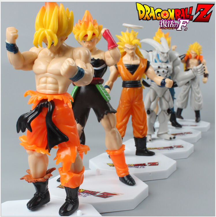 Dragon Ball Z Toys : Pcs lot dragon ball z brinquedos kids toy action figures