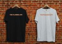 T Gömlek Toptan Yanan Dudaklar Alternatif Rock Siyah Veya Beyaz Erkek Ekip Boyun Kısa Kollu Grafik Tees