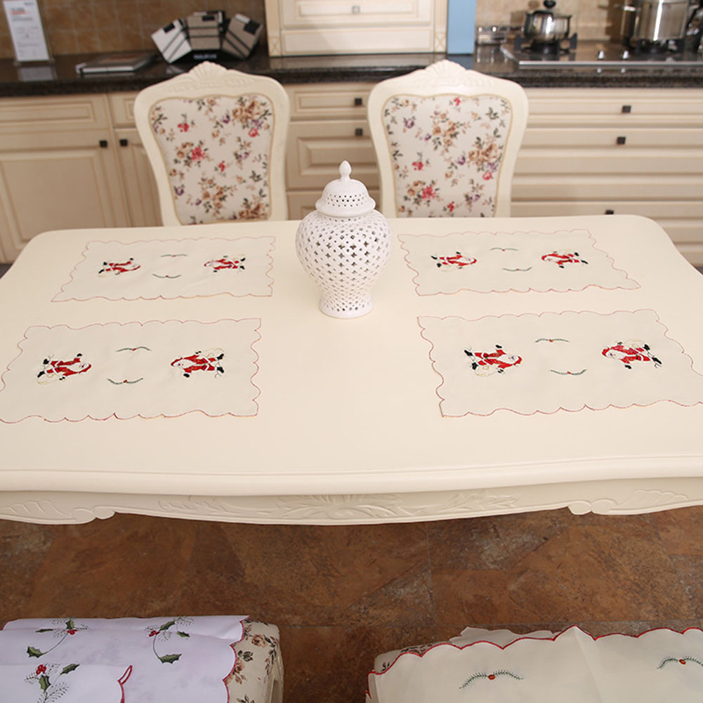 Tableware Pads Christmas Table Placemat Pad Dining Table