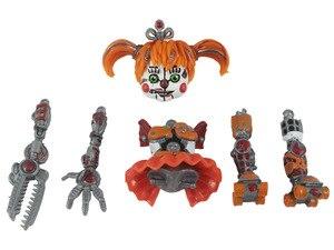 Image 3 - 6ピース/セット5夜アクションフィギュア玩具fnafボニーフォクシーfazbear置物のおもちゃ光と