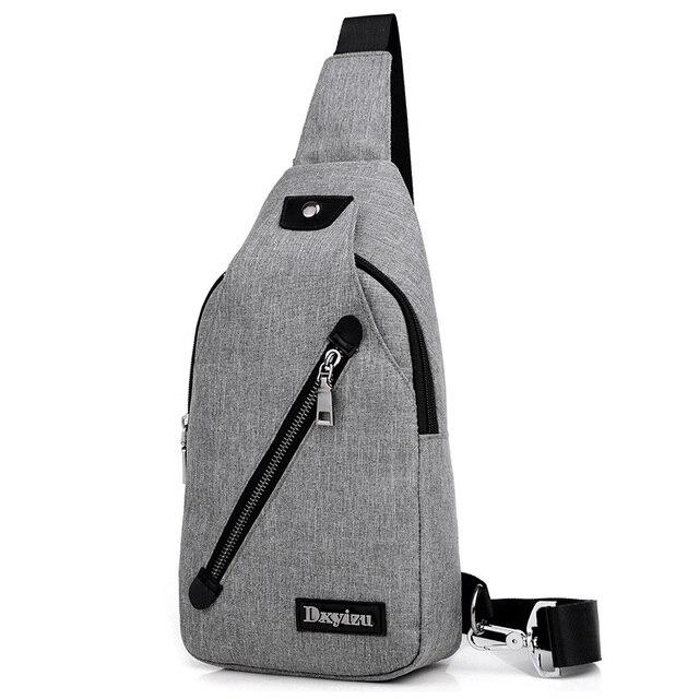 a61364a9af99 New Vintage Denim Men Small Chest Pack Unisex Satchel Bags Mobile Phone Crossbody  Messenger Bags Women Single Shoulder Sling Bag
