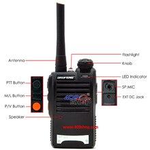 New Designed BF-U3 walkie dual band radio mobile cb radio