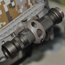 21 мм держатель тактического фонаря зажим для шлема рельсы один зажим стойки адаптер держатель для светодиодный фонарик Зажим для фонаря