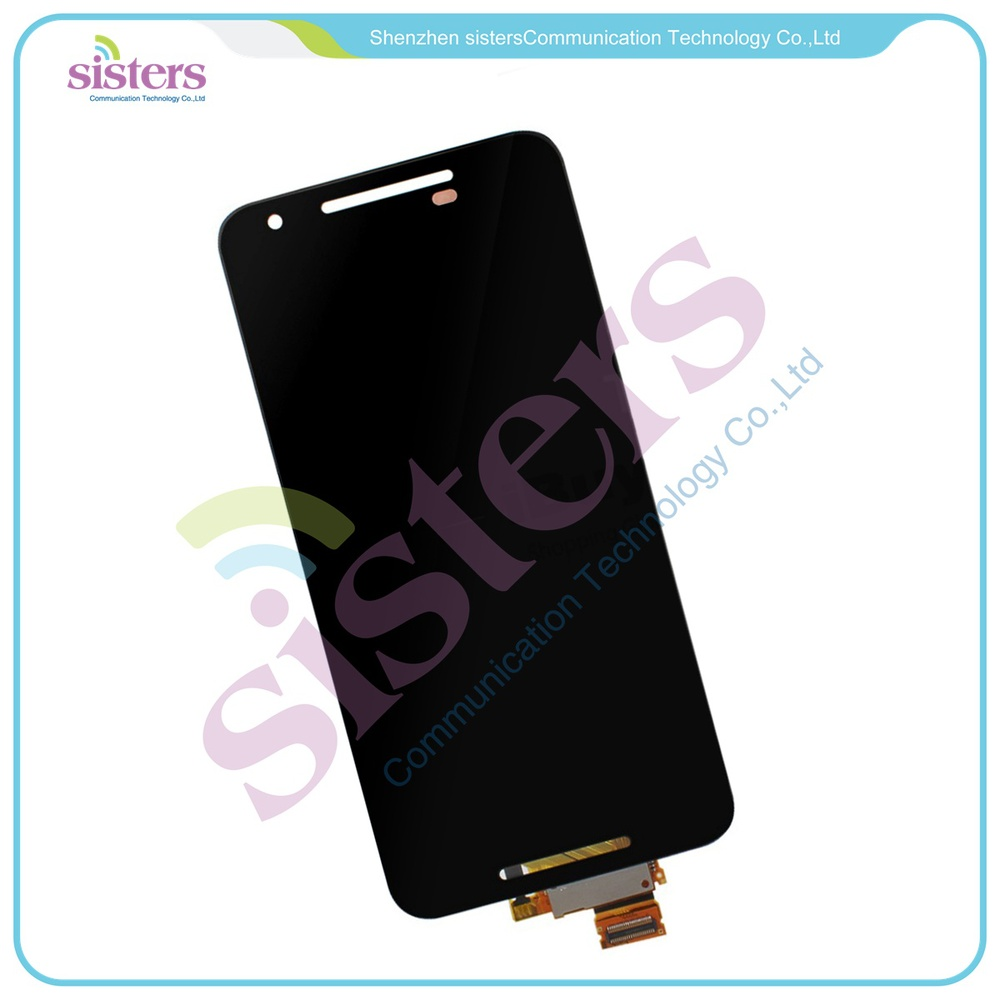 New  A+ Quality Black Touch Screen Digitizer + LCD Display Full Assembly for LG Google Nexus 5X Free ShippingNew  A+ Quality Black Touch Screen Digitizer + LCD Display Full Assembly for LG Google Nexus 5X Free Shipping