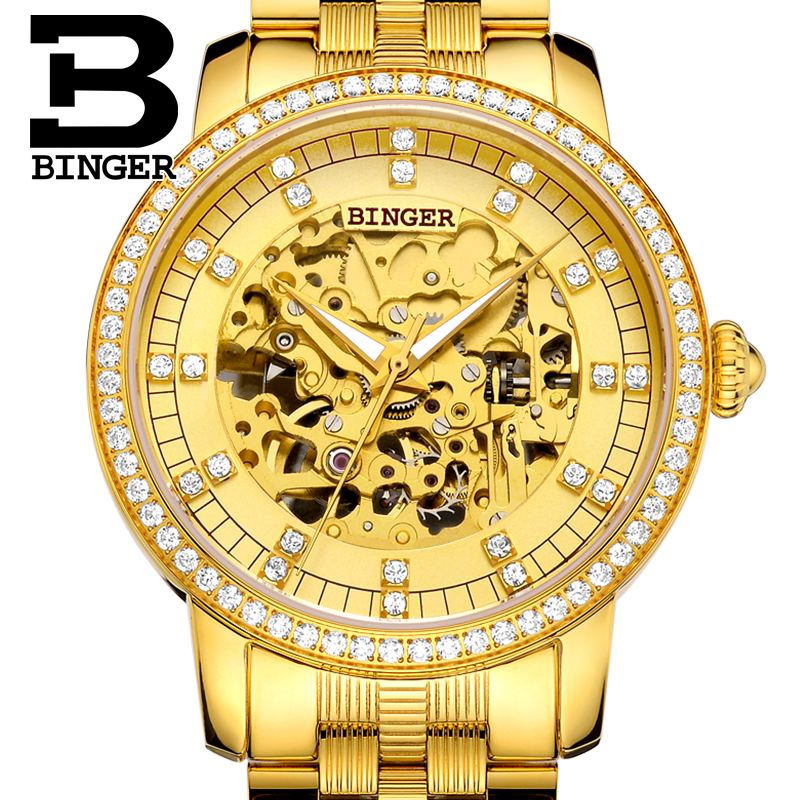 Switzerland Binger Watch Men Brand Luxury Miyota Automatic Mechanical Movement Men Watches Sapphire Waterproof Wristwatch 5051G1 switzerland binger watch men 2017 luxury brand automatic mechanical men s watches sapphire wristwatch male reloj hombre b1176g