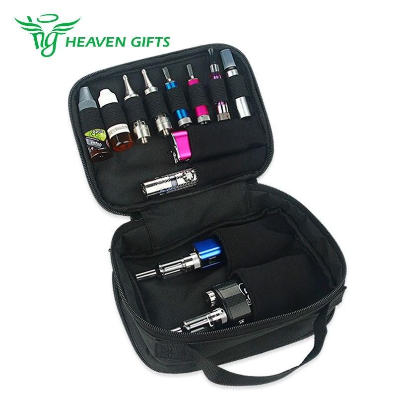 bilder für Premium Qualität Heavengifts Dampf Handtasche mit Griff Elektronische Zigaretten Aufbewahrungstasche Multi funcitonal Handtasche