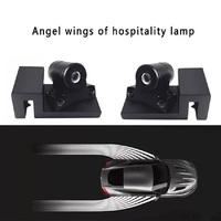 2 X Brand New Universal Car LED Welcome Ghost Shadow Angel Wing Projector Light