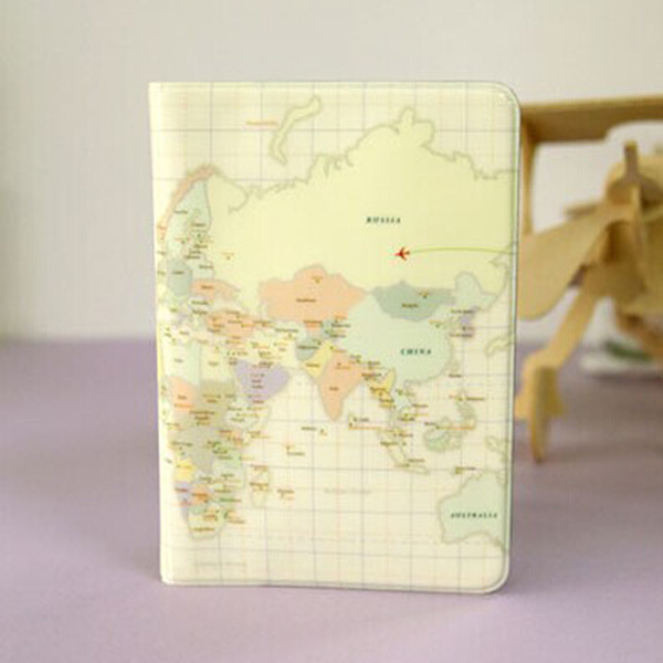 Brand Map Passport Cover Pink durable PVC Travel European Men Women Passport holder Protection Travel Cover on the passport yt0281 italy 2009 european conference on religion european map 1ms new 0521