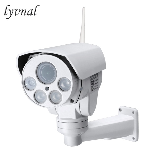 lyvnal 3G 4G SIM card ip camera wifi sony323 1080p PTZ 5x zoom wireless IP  camera audio p2p onvif bullet waterproof outdoor