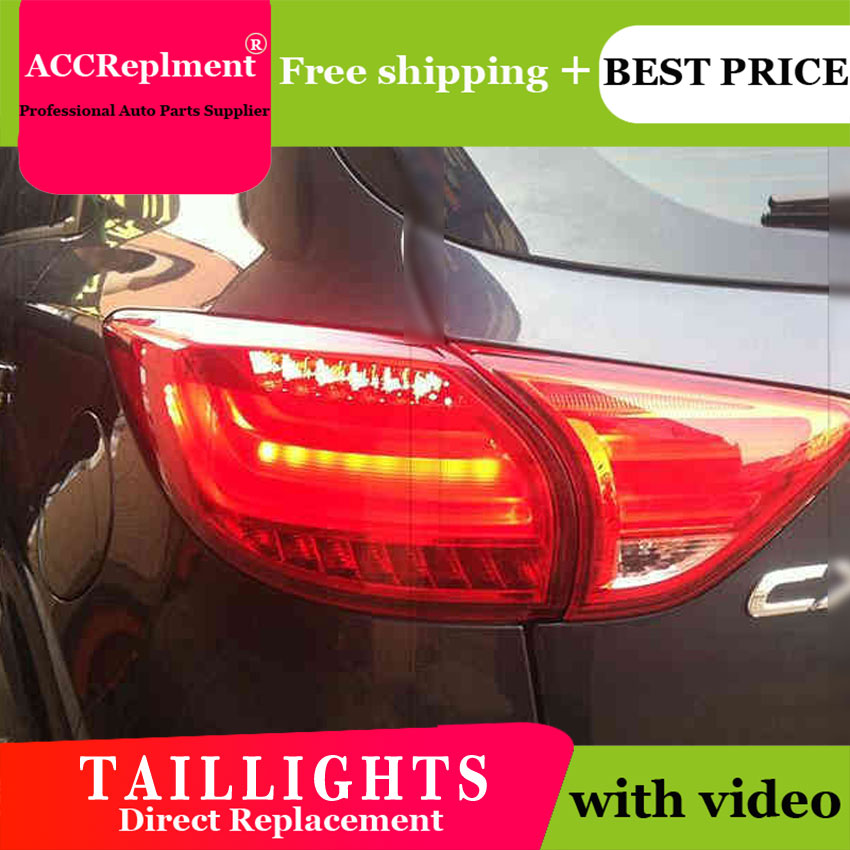 4PCS Car Styling for MAZDA CX 5 Taillights 2011 2015 for CX 5 LED Tail Lamp+Turn Signal+Brake+Reverse LED light