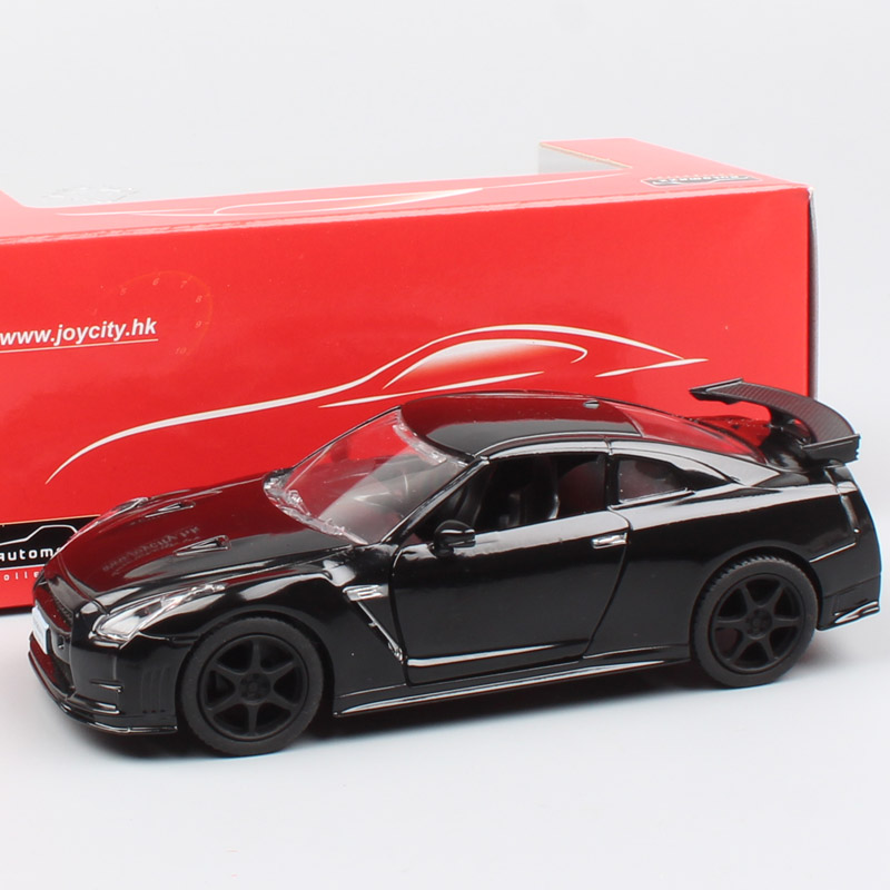 1/36 Scale Mini Automaxx 2014 Nissan SkyLine GTR R35 Nismo Pull Back Diecast Model Sports Racing Cars Vehicles Toys For Children