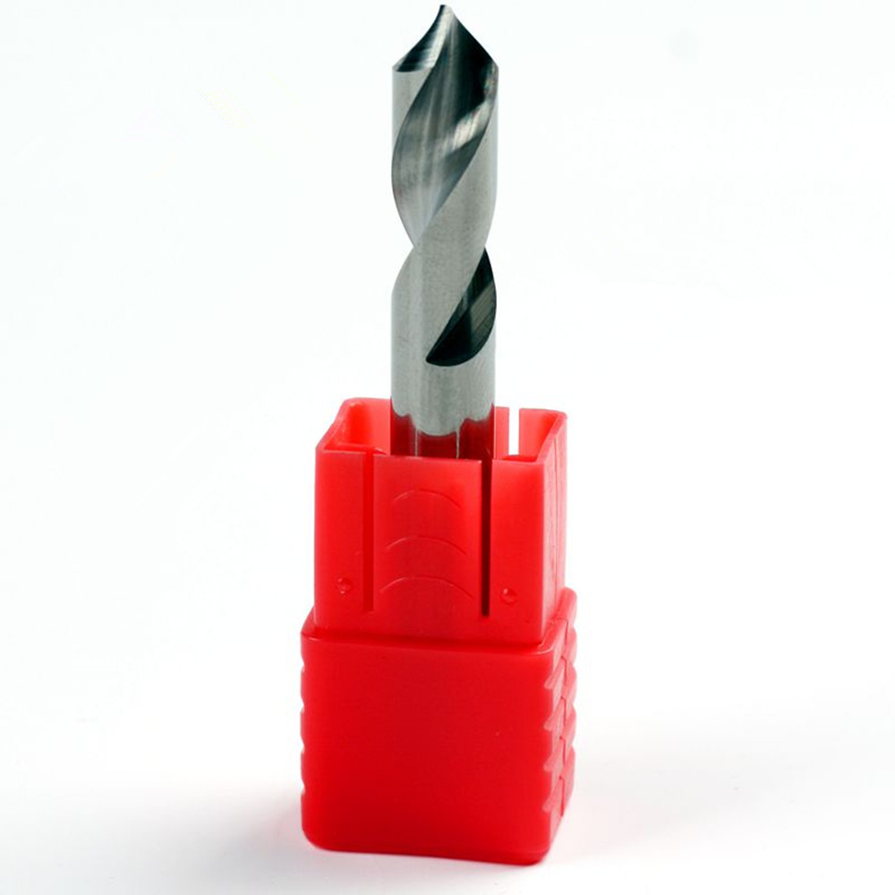 """TiALN COATED 3//8/"""" 2 FLUTE LONG CARBIDE END MILL"""