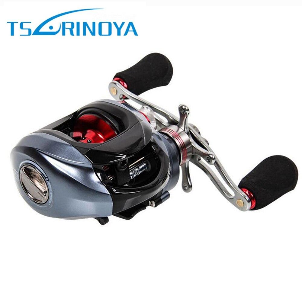 TSURINOYA DW1000 11BB Fishing Reels Left Right Hand Fishing Bait Casting Reel with One Way Clutch 6.3:1 Gear Ratio Fishing Reels