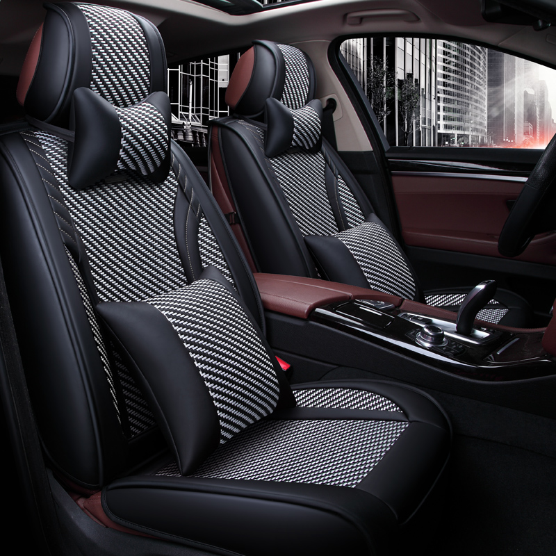 high quality full set car seat covers for kia sorento 5seats 2018 2015 comfortable seat covers. Black Bedroom Furniture Sets. Home Design Ideas