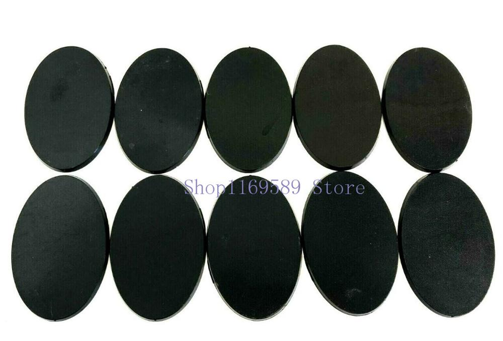 Lot Of 10PCS 60x35mm Oval Bases For Miniature Wargames Table Games|Model Accessories|   - AliExpress