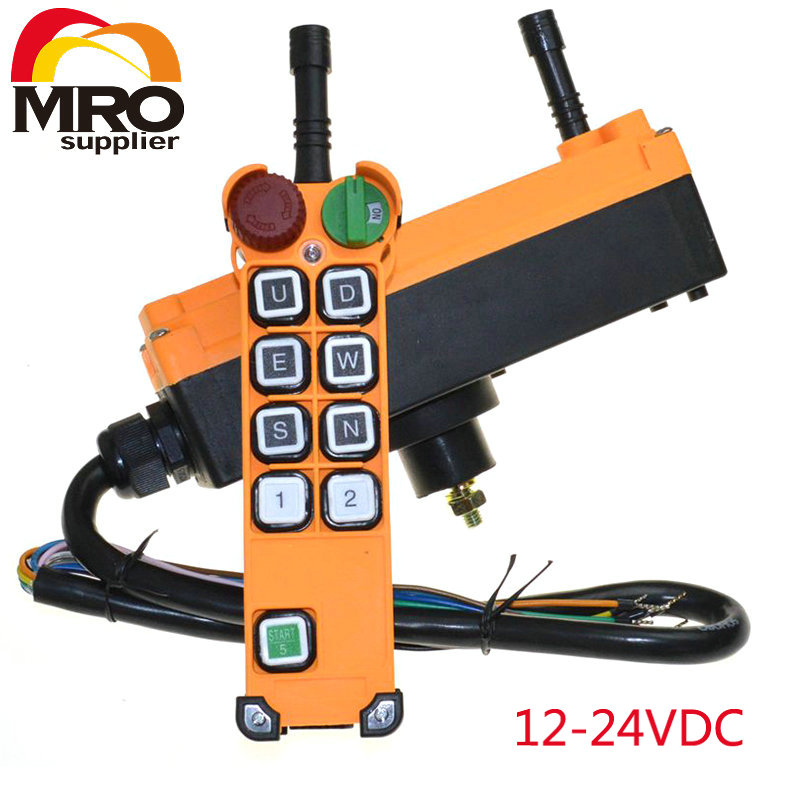 все цены на OBOHOS 8 channel 1 Speed Hoist Crane Truck Radio Remote Control System with E-Stop XH00065 онлайн