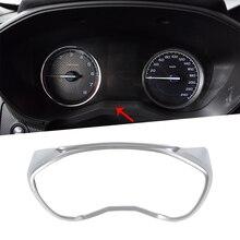 Adesivi per auto In Fibra di Carbonio Grano Materiale ABS Instrument Dashboard Meter Pannello di Copertura Decorazione Assetto Per Subaru Forester SK 2018