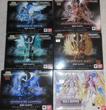 Bandai Saint Seiya Myth Cloth Pegasus cygnus ikki shiryu shun Seiya God Cloth 10th Anniversary Edition Action Figure