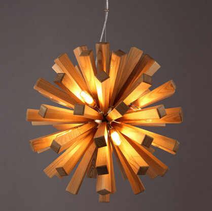 Industrial Pendant Light-Country Creative Individuality Lighting Bar Lamp-Paper Chandelier-Cafe Chandelier-Pendant Ligt-Scandinavian modern