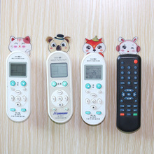Creative multi-function paste TV air conditioner remote control hook No nails no trace strong storage wall hanging