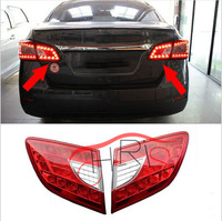 1 Pair Car Styling Rear Trunk Lamp LED Inside Taillight Assembly Rear Light ABS Accessories For