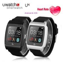 Neue UX Smart uhr U uhr mit Herzfrequenz Kompass Fernbedienung kamera Bluetooth SmartWatch für IOS & Android sportuhr männer mit box