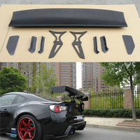 Car styling Unpainted black Fiberglass Material G Style GT 86 BRZ Rear Trunk wing spoiler For Subaru BRZ Toyota 86 GT86