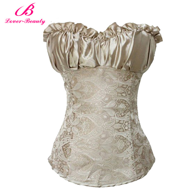 Sexy corsets and bustiers black waist cincher corset for Corset for wedding dress plus size