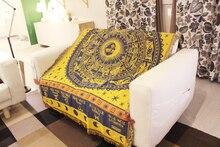 European Style Constellation Creative Tapestry Living Room Sofa Mat