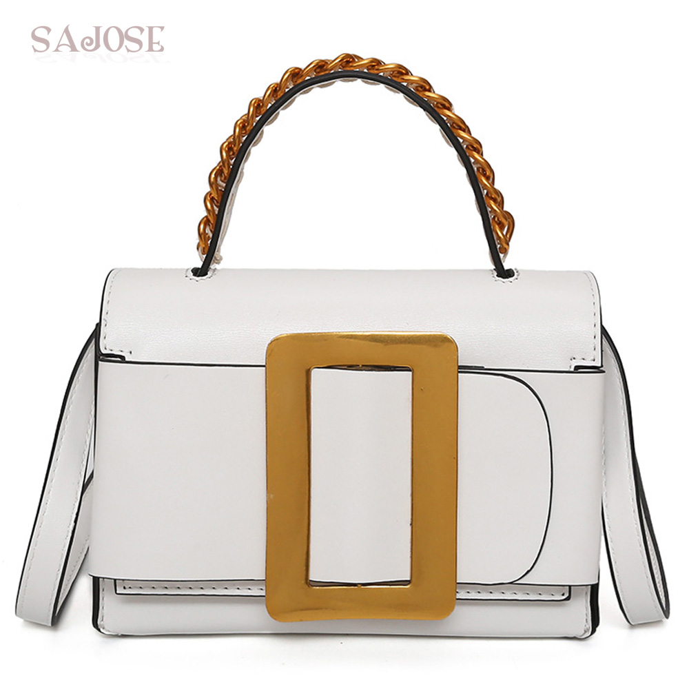 Woman Messenger Bags Fashion Leather Shoulder Bag Girl Crossbody Bags Lady White Famous Brand Female Hand Bag Drop Shipping