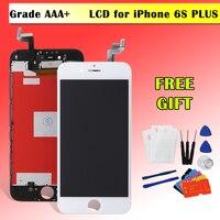 Wyświetlacz LCD Montaż Dla iPhone 5 5C 5S 6 + 6 S Plus Ekran LCD z 3D Panel Dotykowy Digitizer Highscreen Klon Pełna Pantalla