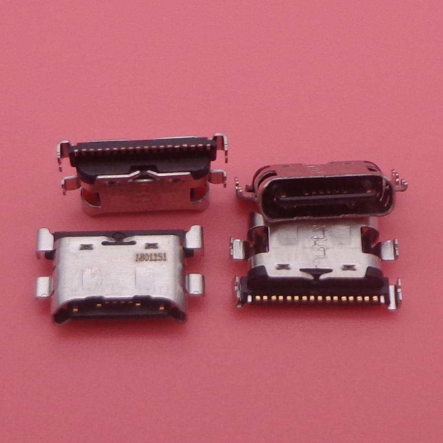 Image 2 - 100 قطعة/الوحدة شاحن مايكرو USB منفذ شحن حوض موصل المقبس لسامسونج غالاكسي A70 A60 A50 A40 A30 A20 A405 A305 A505 A705كابلات مرنة للهاتف المحمولالهواتف المحمولة ووسائل الاتصالات -