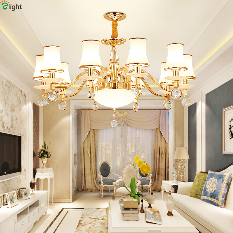 Modern Lustre Marble Led Chandeliers Lighting Gold Metal Living Room Led Pendant Chandelier Lights Bedroom Hanging Light Fixture restaurant white chandelier glass crystal lamp chandeliers 6 pcs modern hanging lighting foyer living room bedroom art lighting