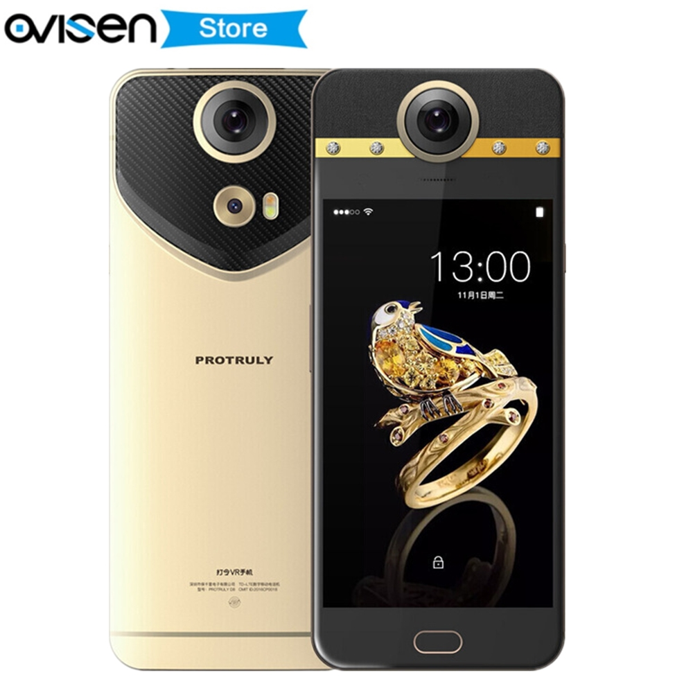 PROTRULY D8 VR 4G Smartphone 360 Grad VR Volle Dimension Helio X20 Deca Core 4 GB 64 GB Telefone 5,5 Zoll 1920*1080 Handy-in Handys aus Handys & Telekommunikation bei AliExpress - 11.11_Doppel-11Tag der Singles 1