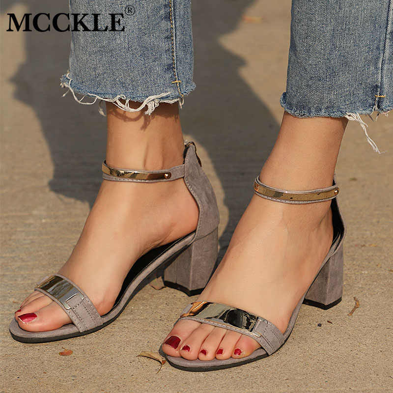 e9abdf9a83 Detail Feedback Questions about MCCKLE Gladiator Sandals Glitter ...