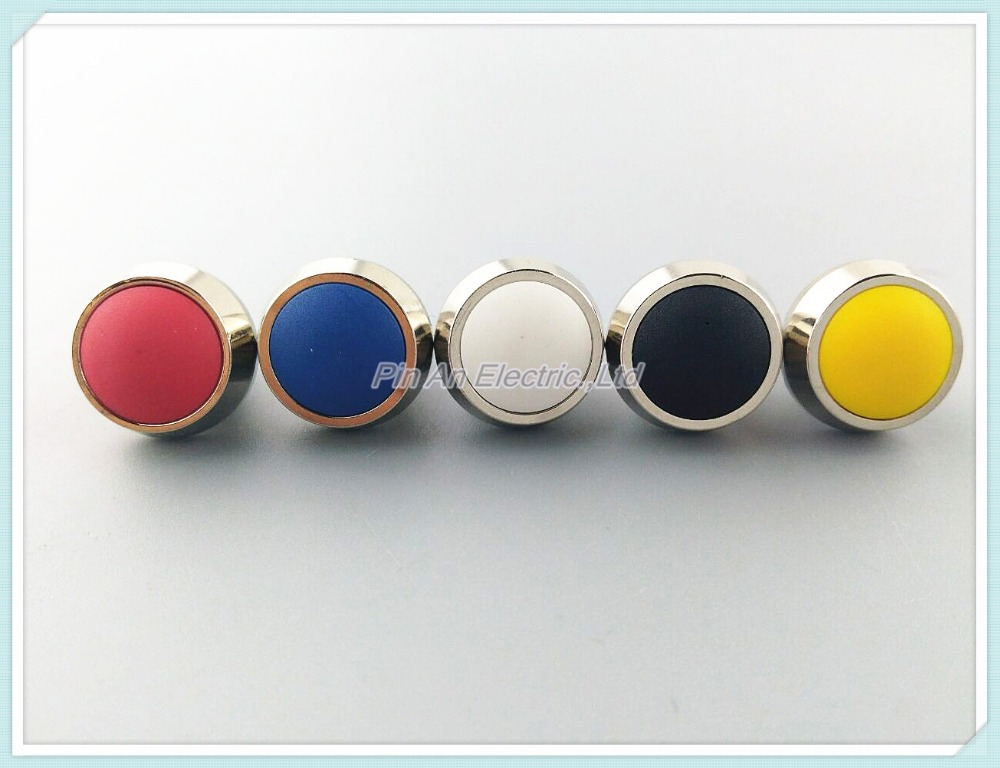 5Pcs/Lot Black/Red/Green/Yellow/Blue 12mm Waterproof Momentary Push button Switch Metal waterproof button merida big seven 20 md 18 5 2016 matt red yellow black