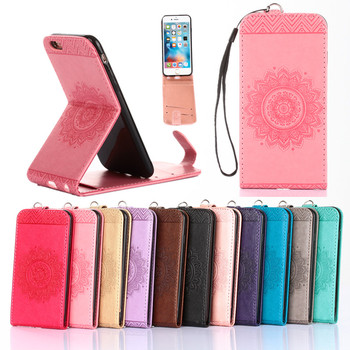 4994af6c8fe Vertical Fundas de móvil para el iPhone de Apple 7 6 s 6 más 5 se 5S 4 s 4S  5se cubierta de silicona de cuero tarjeta de teléfono hoesje coque ETUI  carcasas