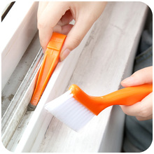 2016 2-in-1 Multipurpose Window Groove Cleaning Brush Keyboard Nook and Cranny Dust Small Shovel / Window Track Cleaning Brushes