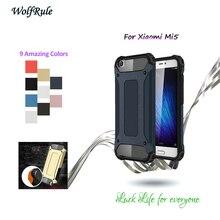 WolfRule sFor Cover Xiaomi Mi5 Case TPU & Plastic Protective Armor Shockproof Phone Case For Xiaomi Mi5 Cover Coque Mi 5 <