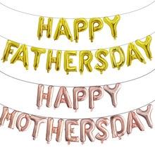 Super-Papa-Foil Balloons Globos Party-Decoration Happy-Father's Air-Baloes 15pcs Feliz-Dia