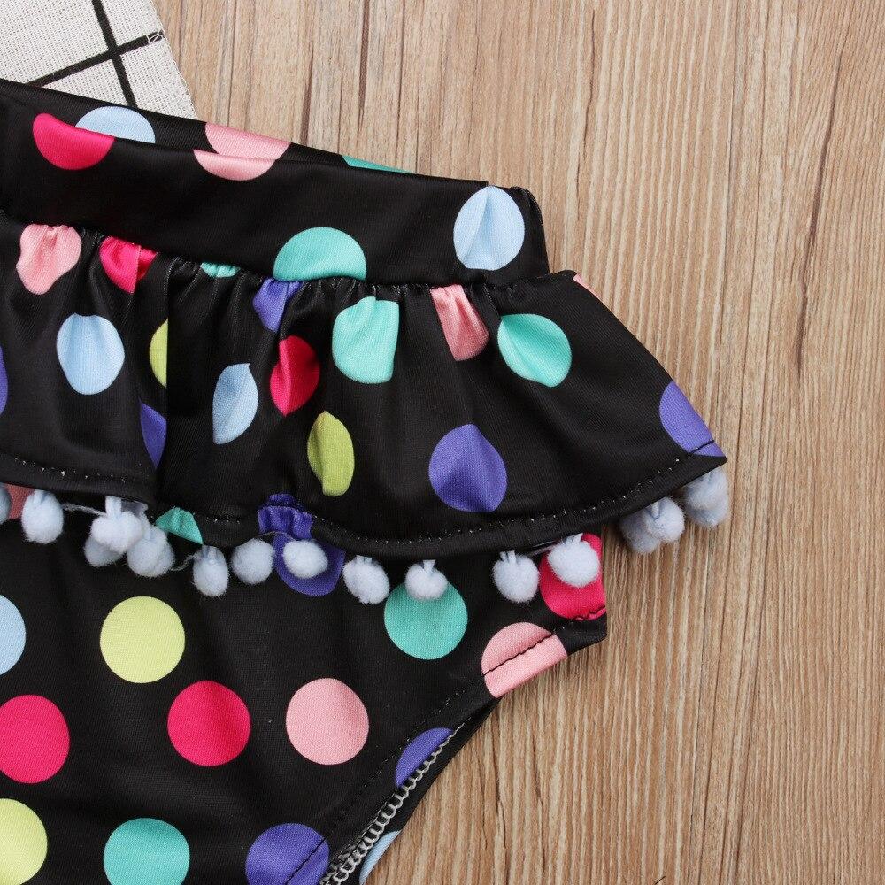 dziewczynka odzież letnie dziewczyny stroje kąpielowe odzież dla - Odzież dla niemowląt - Zdjęcie 6